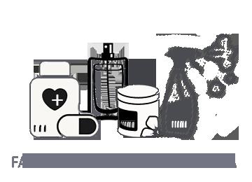 farmacia cosmética limpieza detergentes