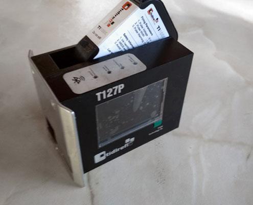 T127P impresora TIJ HP Tidirefi